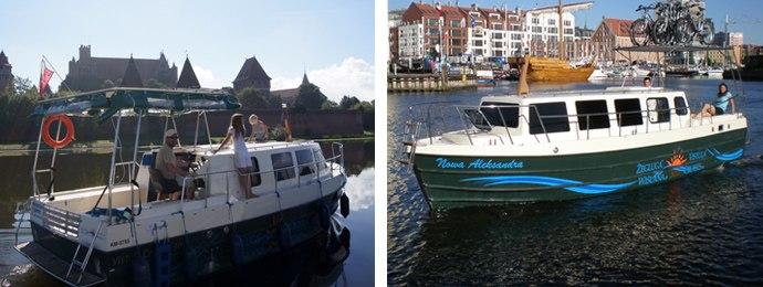 Motorboot Vistula Cruiser - Details